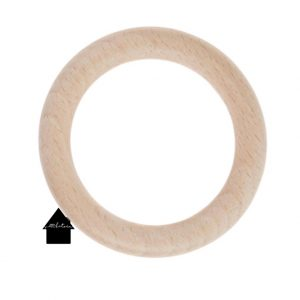 houten ring voor plantenhangers