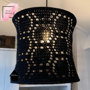 gehaakte lamp