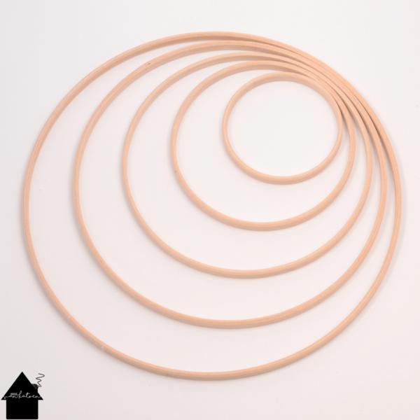 houten ringen voor mandala's
