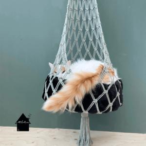 kattenbed macrame